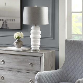 Madison Park Bernie White Table Lamp
