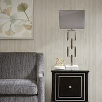 Madison Park Signature Boulevard Silver Table Lamp