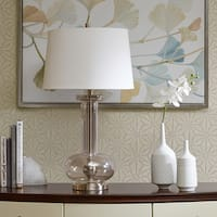 Madison Park Signature Irving Silver Table Lamp
