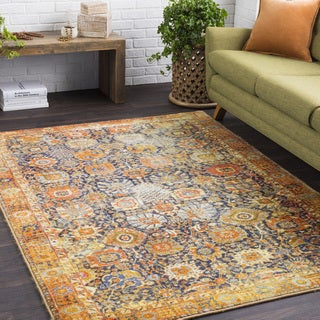 The Curated Nomad Britton Soft Vintage Area Rug - 2' x 3'