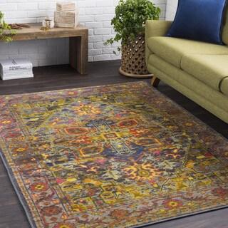 Haute Hali Multi Vintage Oriental Area Rug (2' x 3') - Thumbnail 0