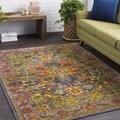 Haute Hali Multi Vintage Oriental Area Rug (2' x 3')