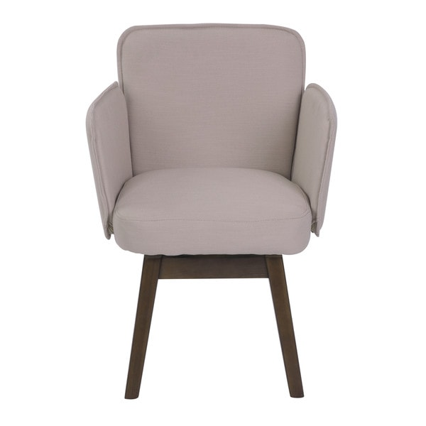 Shop Elle Decor Esme White And Pink Home Office Chair