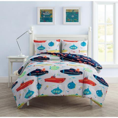VCNY Home Submarine 3-piece Comforter Set
