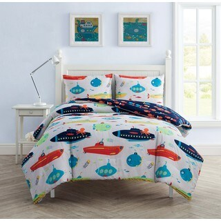 VCNY Home Submarine 3-piece Comforter Set