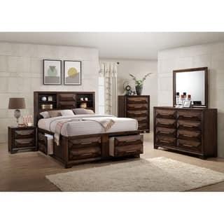 complete bedroom furniture sets. Simmons Casegoods Anthem Collection 5 Piece Bedroom Set Queen King Sets For Less  Overstock com