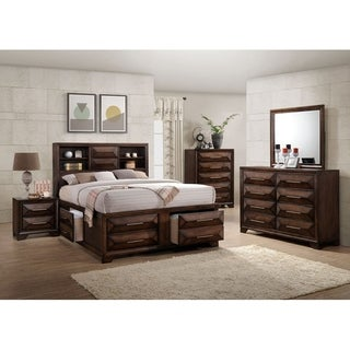 Simmons Casegoods Anthem Collection 5 Piece Bedroom Set Queen/King (Option:  Platform