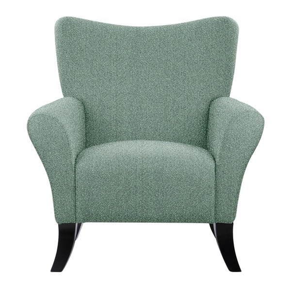 Shop Natalia Accent Chair With Endear Fabric 675 Free Shipping Today