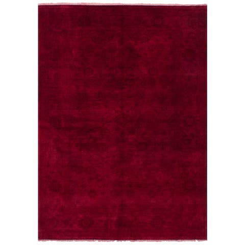 eCarpetGallery Wool Hand-knotted Color Transition Rug