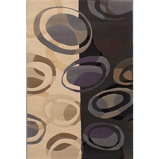 eCarpetGallery Multicolor Power-loomed Area Rug (3'10 x 5'7)