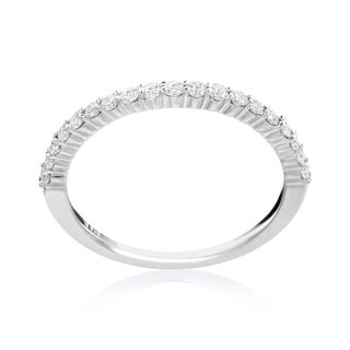 SummerRose 14k White Gold 1/3ct TDW Diamond Wedding Band (More options available)
