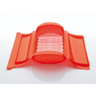 Lekue Steam Case with Draining Tray Red