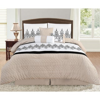 Delany King Size 7 Piece Comforter Set