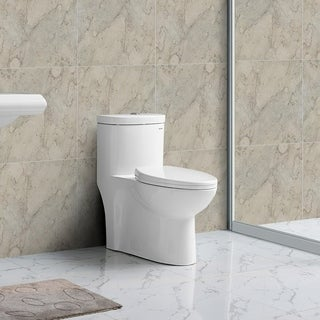 Swiss Madison Sublime 1-Piece Elongated Dual Flush Toilet (0.8/1.28 GPF)