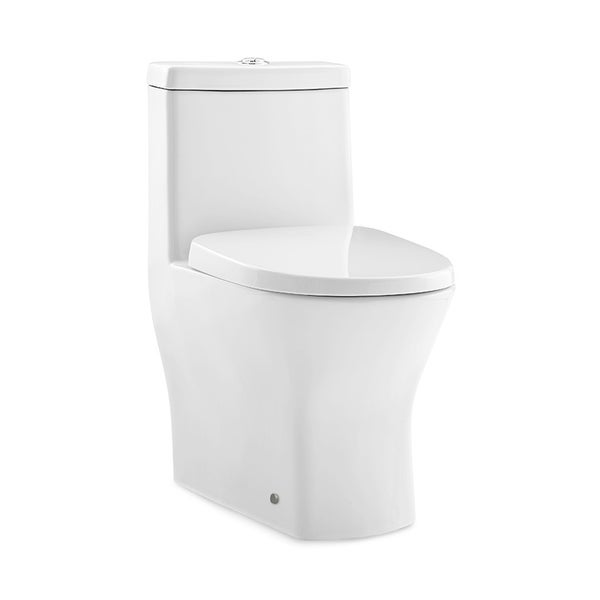 Swiss Madison Sublime Ii One Piece Compact Small Toilet 24 Long Dual Flush 0 8