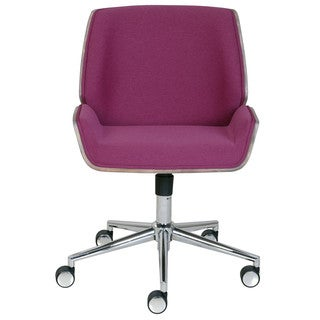 Elle Decor Ophelia Bentwood Metal/Fabric Task Chair