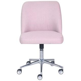 Elle Decor Maia Fabric Two-tone Task Chair