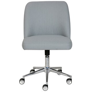 Elle Decor Maia Fabric Two-tone Task Chair