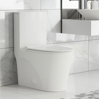 Swiss Madison SM-1T254 St. Tropez One Piece Elongated Dual Tornado 0.8/1.28 GPF Toilet