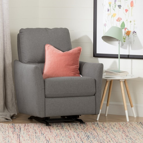 South S Cotton Candy Fabric Upholstered Nursery Rocking Chair