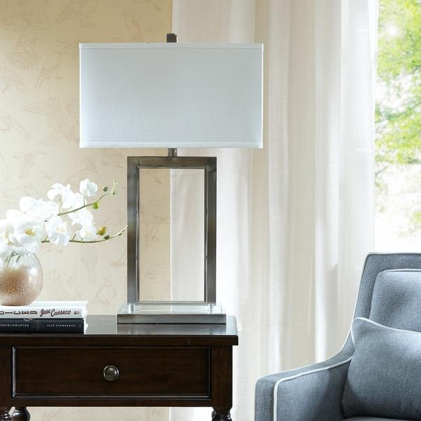 Madison Park Signature Audrey Silver Table Lamp