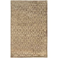 Tommy Bahama Ansley Taupe/Beige Jute Area Rug (10' x 13') - 10' x 13'