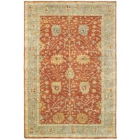 Tommy Bahama Palace Red/Grey Wool Area Rug - 10' x 14'