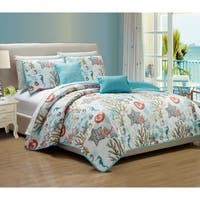 Havenside Home Biloxi Coastal 5-piece Quilt Set
