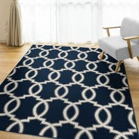 "Carolina Weavers Peraza Collection Labyrinth Blue - 7'10"" x 10'"