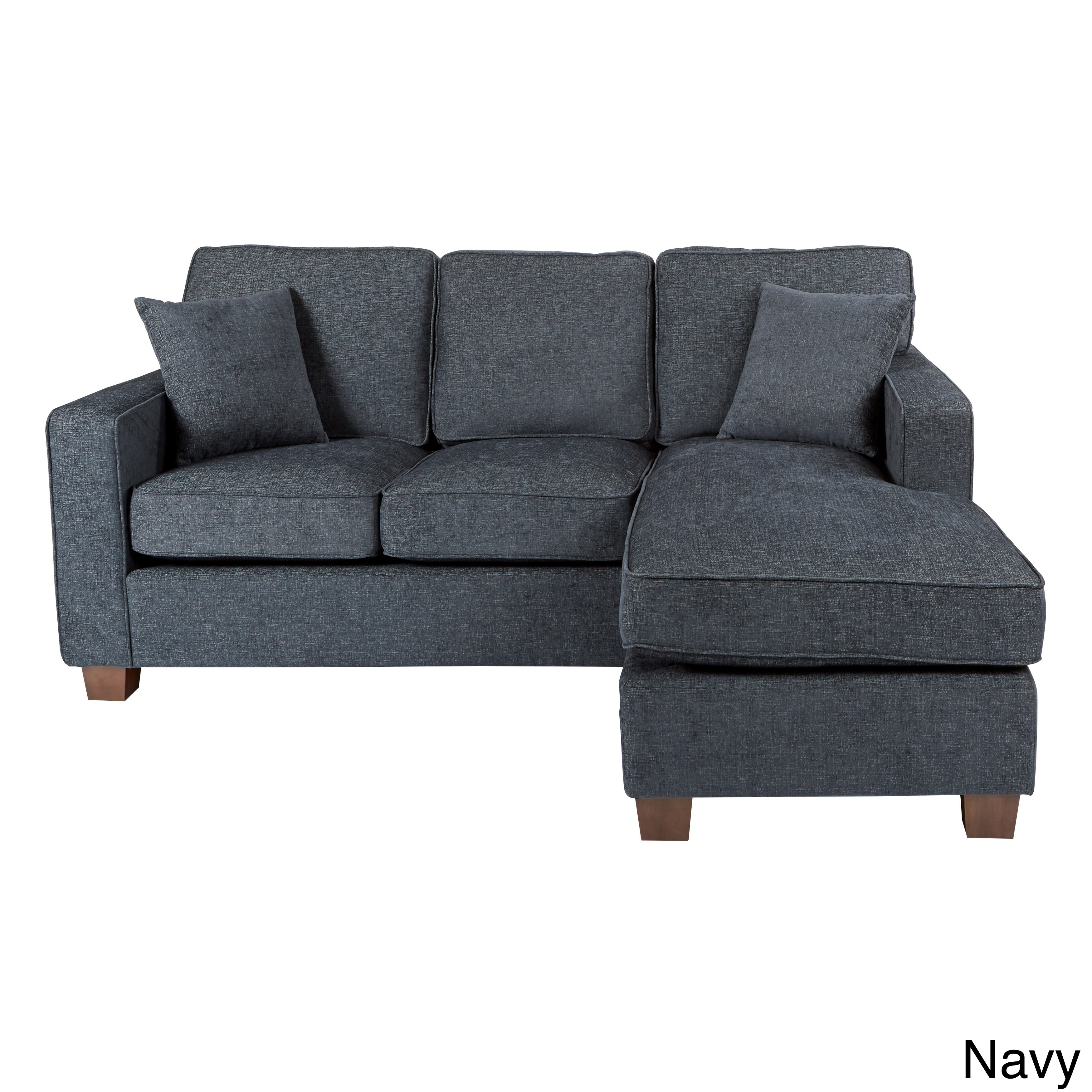 Porch U0026 Den Over The Rhine Renner Reversible Chaise Sectional Sofa (Option:
