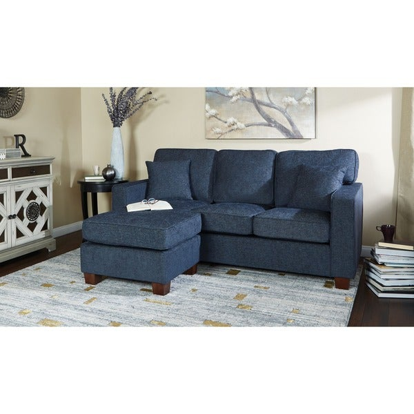 Shop Copper Grove Cleome Reversible Chaise Sectional Sofa - Free ...
