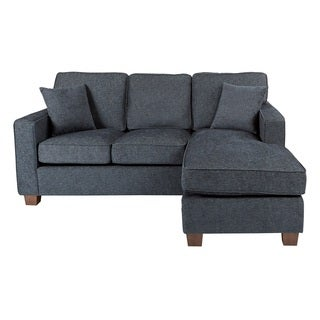 Ave Six Russell Reversible Chaise Sectional Sofa