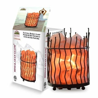 Himalayan Glow Natural Air Purifying Pillar Salt Lamp
