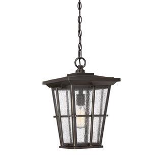 Quoizel Rockport Palladian Bronze Outdoor Hanging Lantern