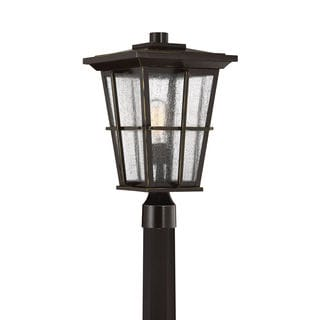 Quoizel Rockport Palladian Bronze Aluminum Outdoor Post Light