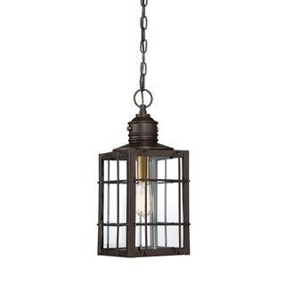 Quoizel West Oak Western Bronze Outdoor Hanging Lantern