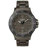 Timex Men's TW4B10800 Expedition Ranger Grey Stainless Steel Bracelet Watch