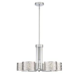 Quoizel Platinum Collection Abode Chrome-finished Steel 5-light Chandelier