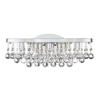 Quoizel Bordeaux Clear Crystal G9 LED Bath Fixture