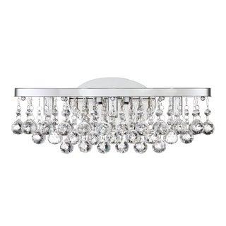 Quoizel Bordeaux Clear Crystal G9 LED Bath Fixture