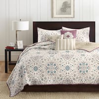 Madison Park Maya Plum 6 Piece Coverlet Set