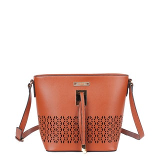 Nikky Fashion Laser Cut Design Shoulder Bag