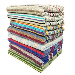 Ruthy's Textile 100-percent Cotton Bath Towels (Multiple pack sizes available) (4 options available)