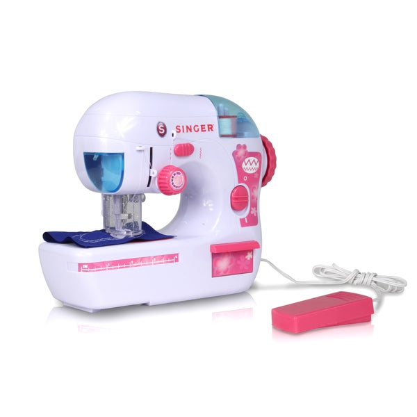 Shop Singer ZigZag Chainstitch Sewing Machine W Food Pedal Free Impressive Singer Ez Stitch Toy Sewing Machine