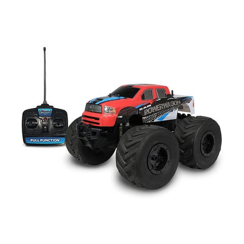 NKOK Mean Machines 1:8 Extreme Terrain RTR RC: RAM 2500 Power Wagon Vehicle