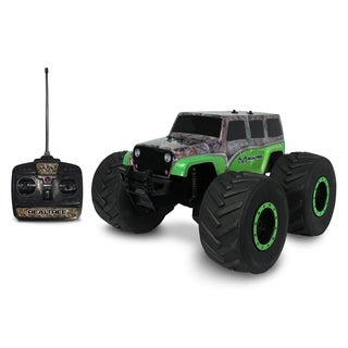 NKOK 1:8 RealTree Extreme Terrain RTR RC Jeep Wrangler Unlimited Remote Control Toy
