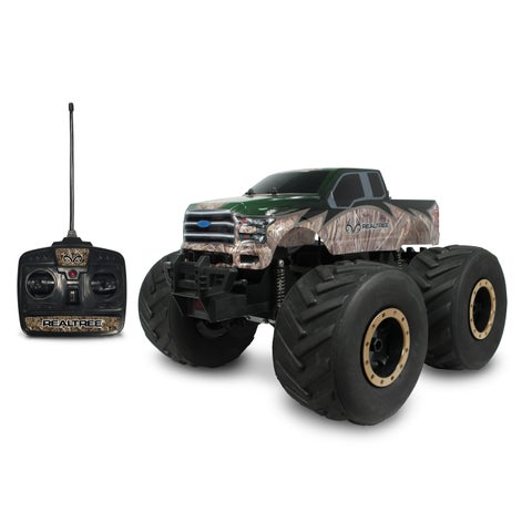 NKOK 1:8 RealTree Extreme Terrain RTR RC 2015 Ford F-150 Remote Control Toy