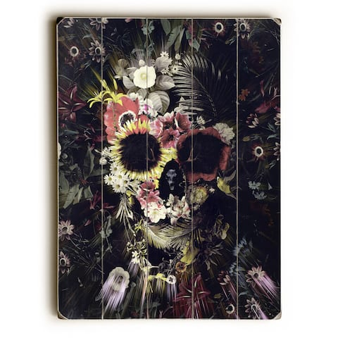 Garden Skull Dark - Multi Wall Decor by Ali Gulec