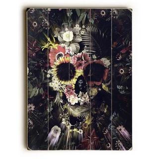 Garden Skull Dark - Multi Wall Decor by Ali Gulec