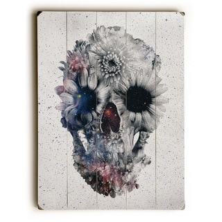 Floral Skull 2 - Multi Wall Decor by Ali Gulec